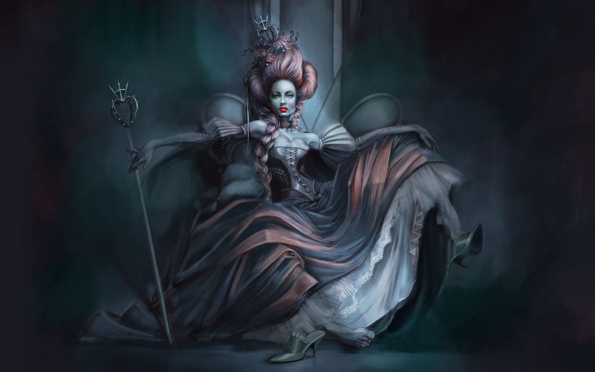 A vampire countess who appears to be