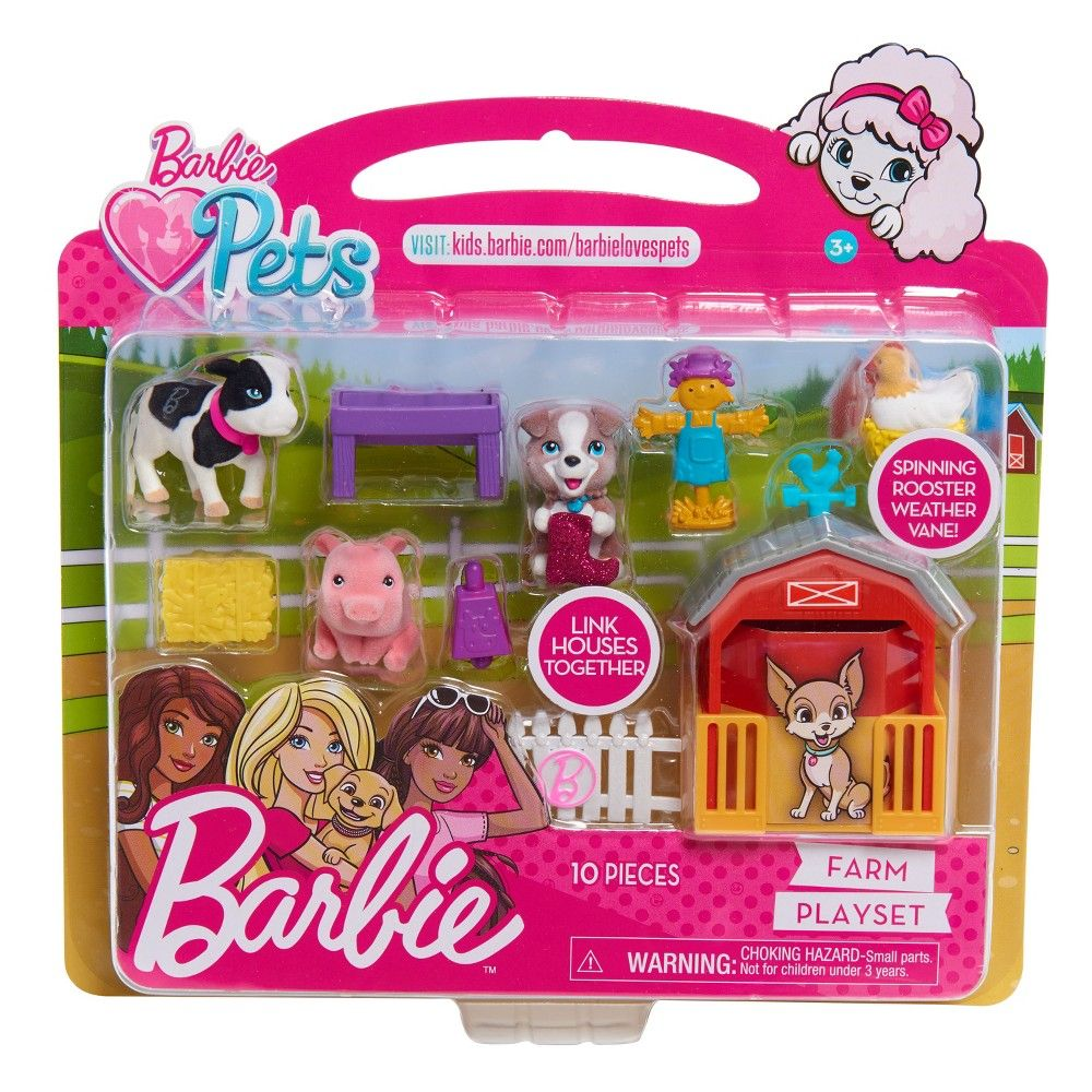 Multi Barbie Ken Dog Trainer Playset with Doll and Accessories