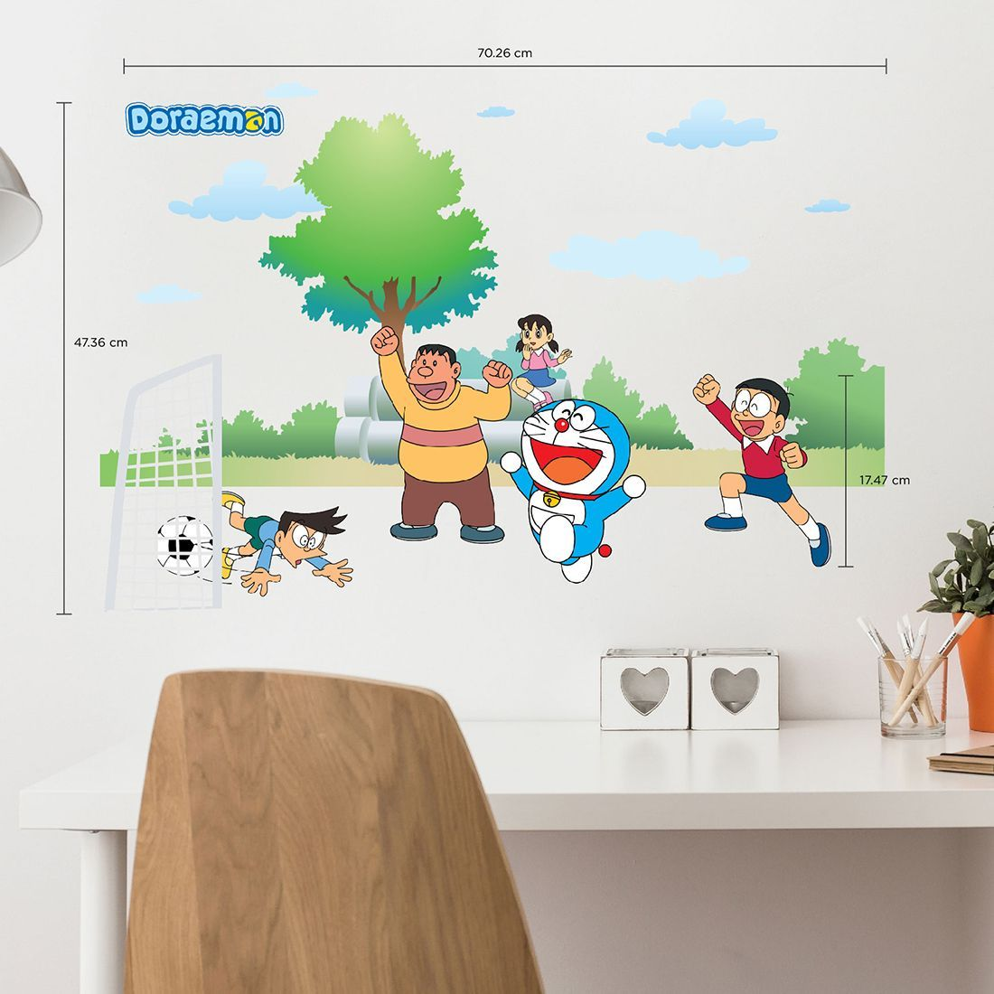 Wallpaper Sticker Doraemon Dinding Anak