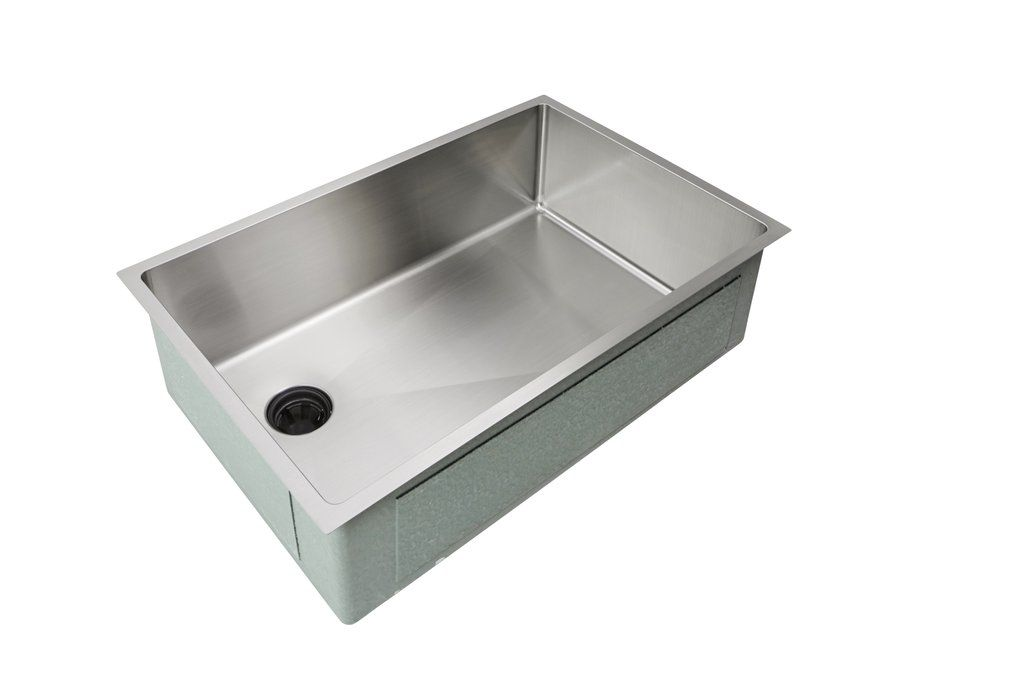 Adver 28 Sink 8 Depth Single Bowl Offset Drain Left 5s28l