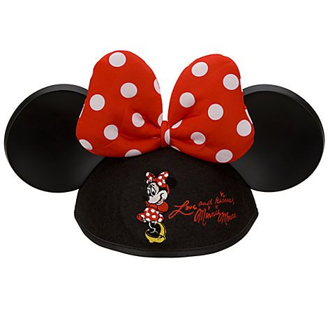 be8f7e675f1 Minnie Mouse Ear Hat for Girls - Personalizable
