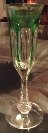 Replacements, Ltd. Search: champagne glasses    MOSER GLASS Lady Hamilton Description:	Clear, Cut Panels No Trim Piece Name:	Chartreuse Fluted Champagne