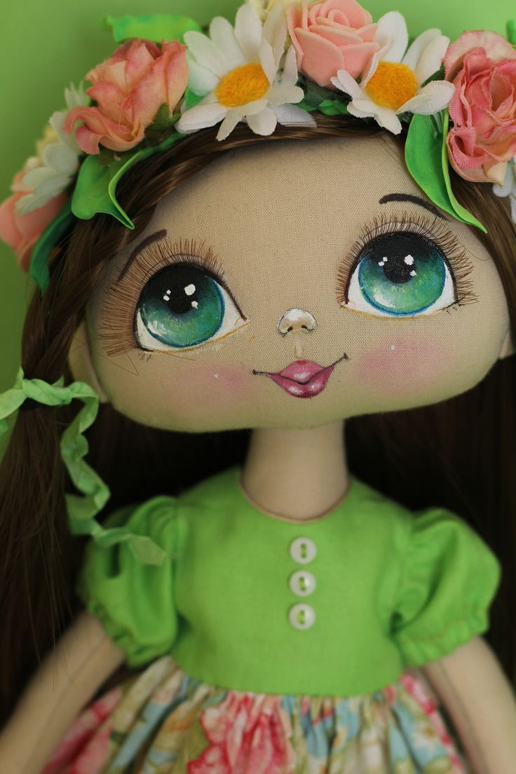 Annette's doll #amigurumimuecas #annette #dollfacepainting