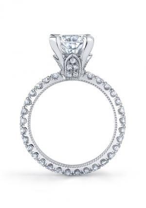 Katharine James Juliet's Love Dacia Semi-Mount Ring   Oster Jewelers, Denver Colorado