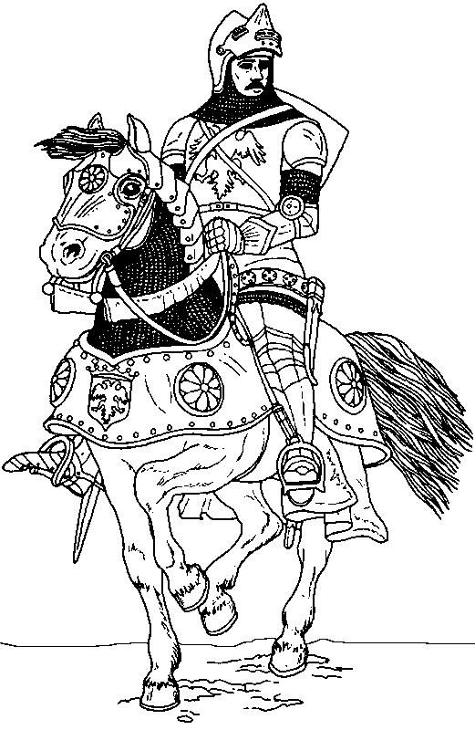 Middle Ages Coloring Page 8 Wallpaper Mid Evil Crafts For Budapest