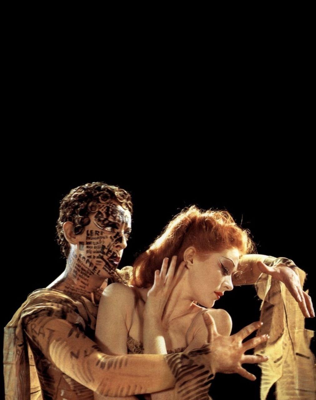 Moira Shearer & Robert Helpmann in The Red Shoes (1948, dir. Michael Powell & Emeric Pressburger)