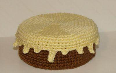 TARTA CHOCOLATE VAINILLA - crochet