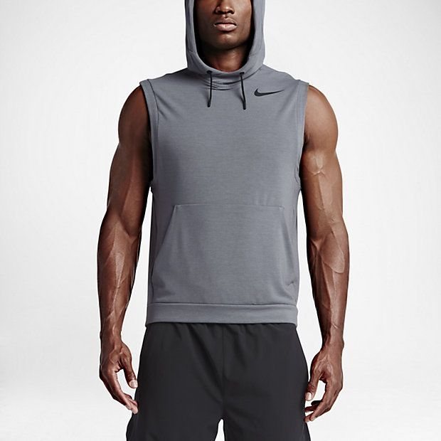 Nike Fleece Pullover Sleeveless Men's Training Hoodie - clothing, mens,  sports, men,