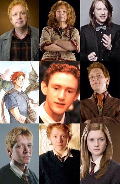 Pin By Amanda Watts On Harry Potter Weasley Family Harry Potter Facts Harry Potter