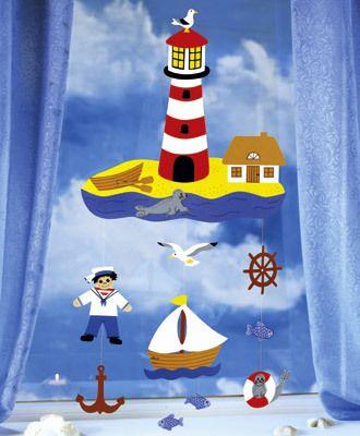 Fischer fensterbilder kinder for Fensterbilder kinderzimmer