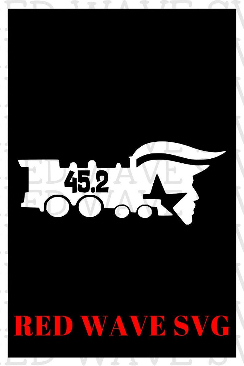 View Designs Trump Train Svg PNG