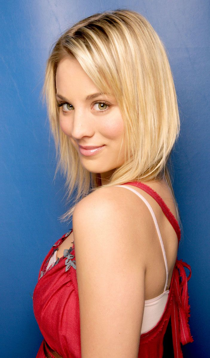Kaley Cuoco American Film And Television Actress She First Came