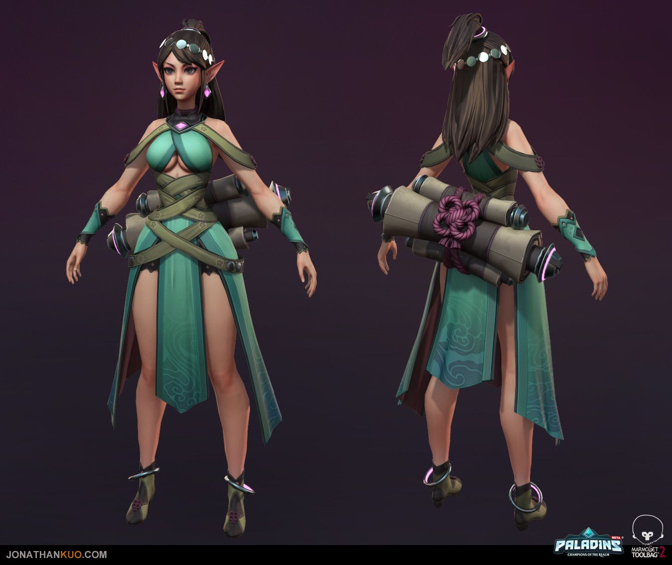 beste schoenen Super korting delicate kleuren Character that I worked on for Paladins: Champions of the ...