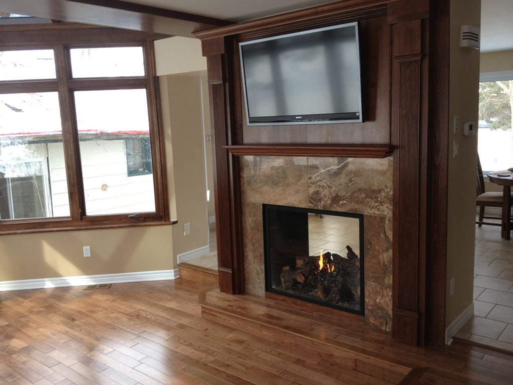 Double Sided Fireplace Two Sided Fireplace 2 House