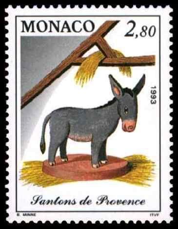 Monaco 1993 Santons de Provence