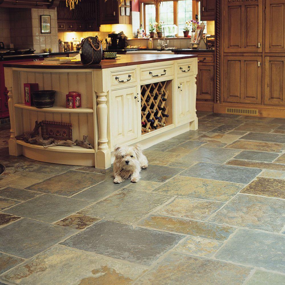 country farmhouse multicolour slate 30x30 tiles slate tile tiles flooring on farmhouse kitchen tile floor id=81428