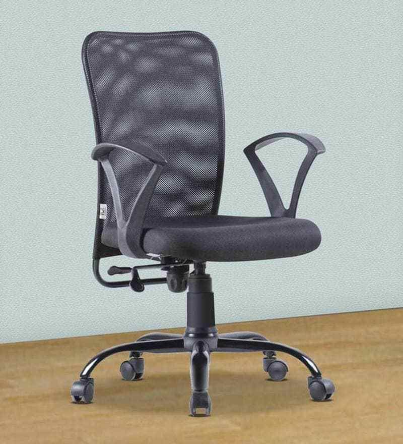 Fine Buy Style Office Ergonomic Chair At Pepperfry In Black Color Caraccident5 Cool Chair Designs And Ideas Caraccident5Info