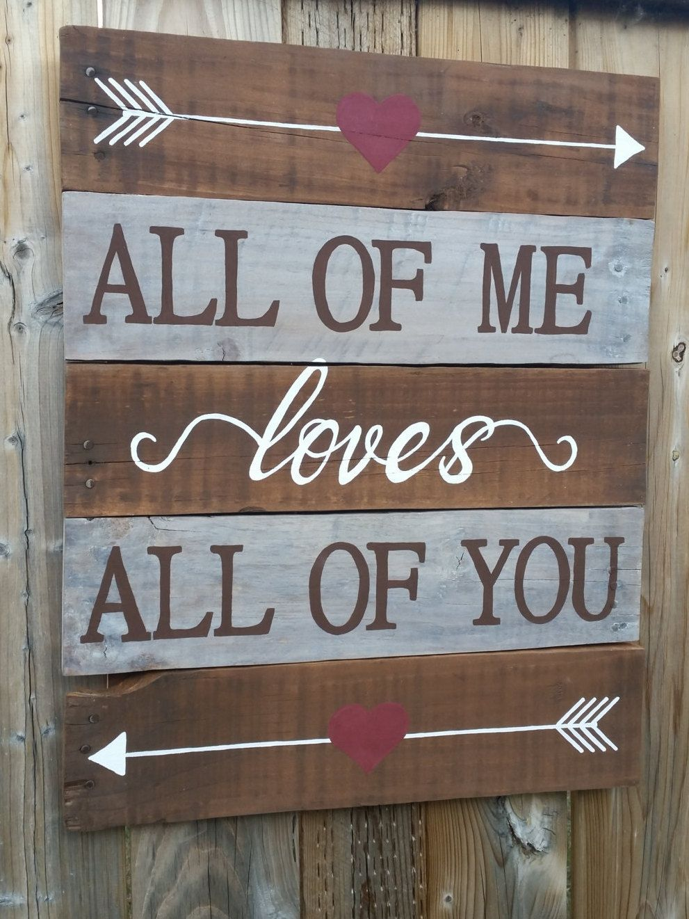 Unique Rustic Wooden Pallet Sign By Whatsyoursign15 On