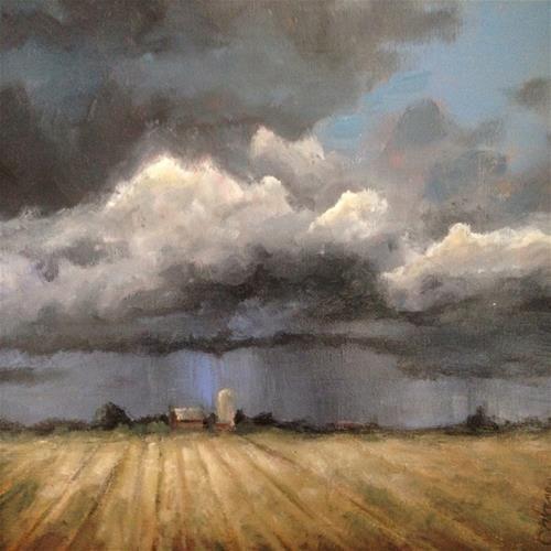 "Daily Paintworks - ""Untitled"" - Original Fine Art for Sale - © christina glaser"