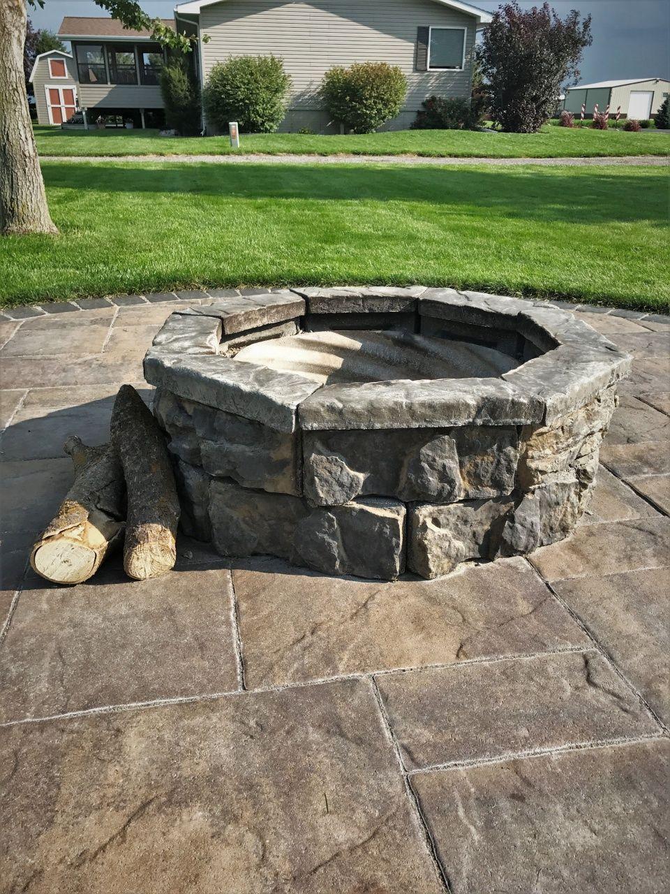 Home Depot Patio Fire Pit In 2020 Backyard Fire Fire Pit Backyard Fire Pit Kit