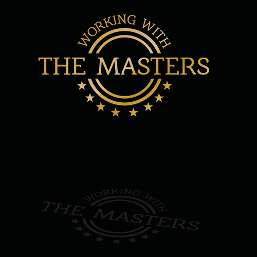 Working With The Masters Design Logo Working With The Masters We Have 4 Academies And Working With The Masters Logo Design Contest Logo Design Geometric Logo