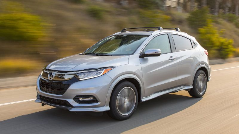 2019 Honda HRV named a Top Safety Pick by IIHS Compact