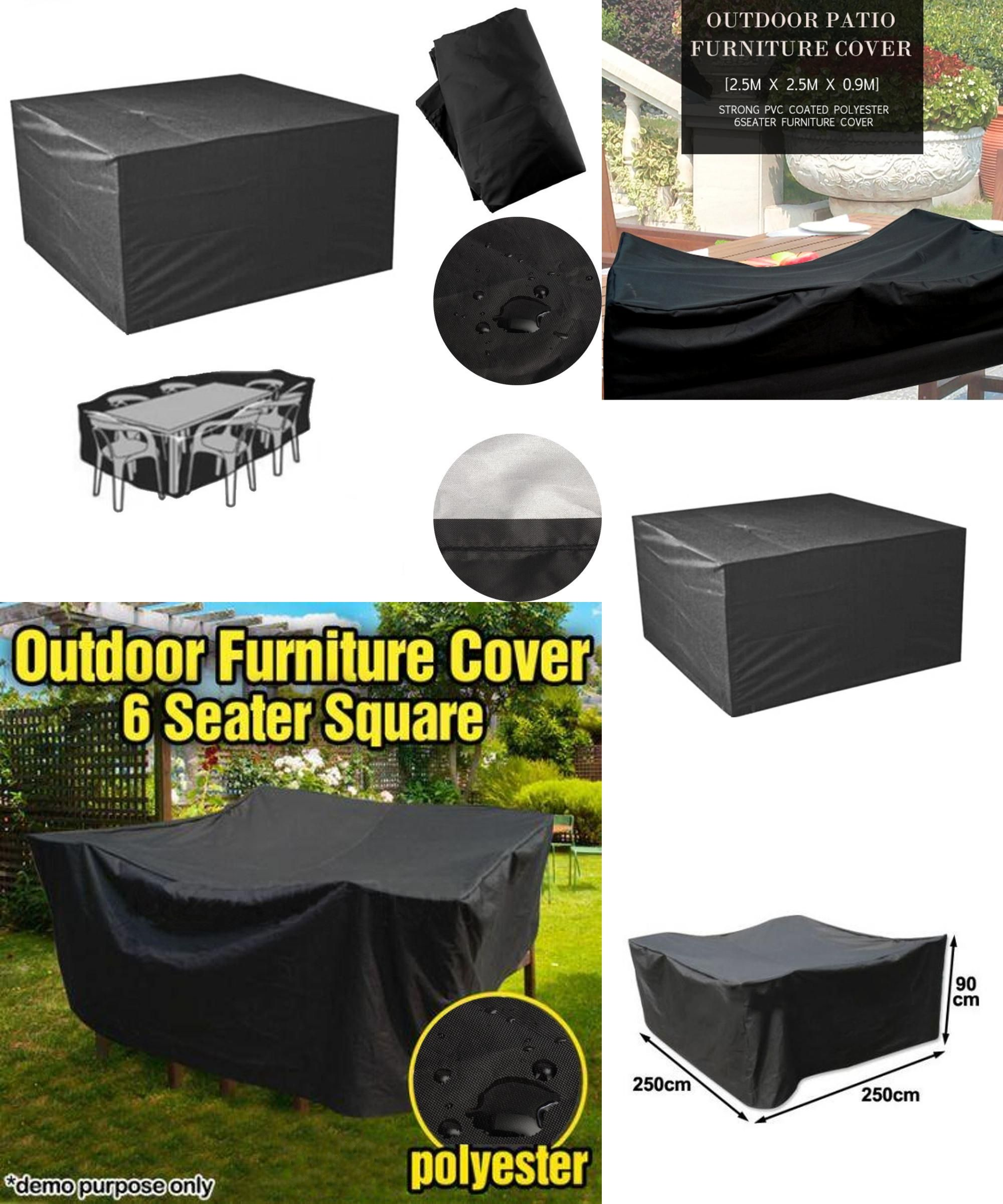 Visit To Buy Black Outdoor Patio Polyester Furniture Cover