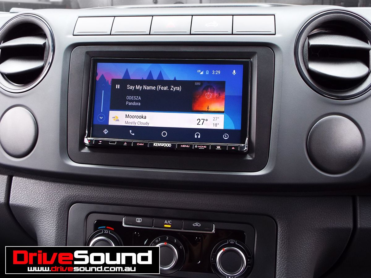 Volkswagen Amarok with Android Auto installed by