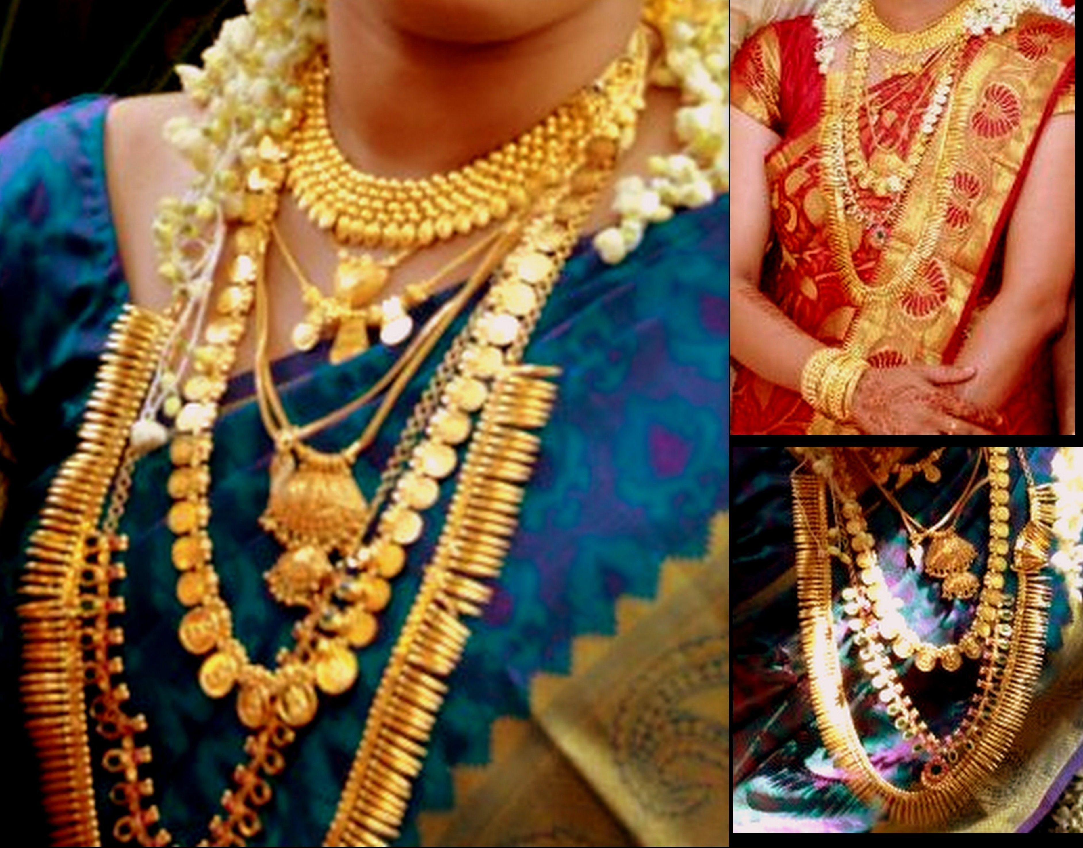 South Indian Bridal Necklaces Kerala Version Wedding