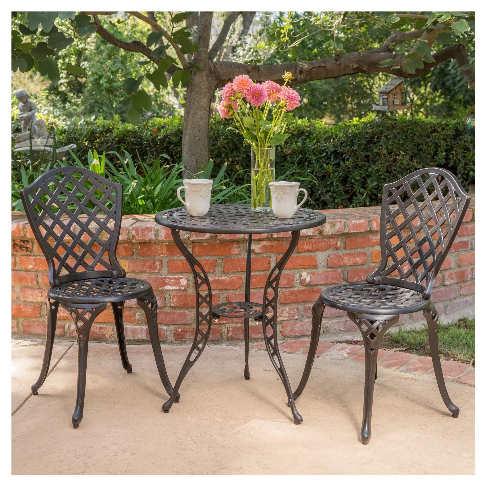 Turn Your Backyard Into A Chic And Relaxing Oasis With These 85 Target Furniture Finds In 2020 Outdoor Bistro Set Outdoor Patio Decor Outdoor Patio Set