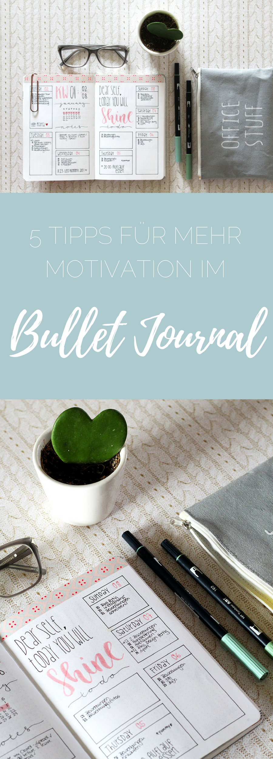 bullet journal 5 tipps f r mehr motivation f r 39 s bullet. Black Bedroom Furniture Sets. Home Design Ideas