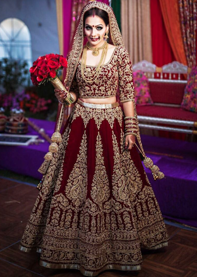 Mehndi Lehenga For Bride : Outfit by well groomed desi bridal shaadi indian