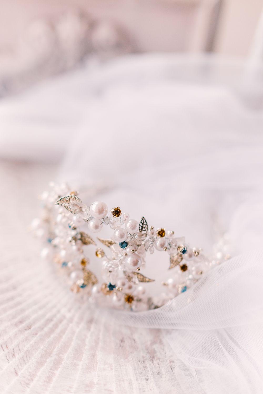 Wedding dresses crewe  Ice queenus tiara wingednotes tiara diadem crem wedding