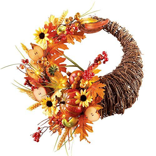 Cornucopia Wreath Collections Etc