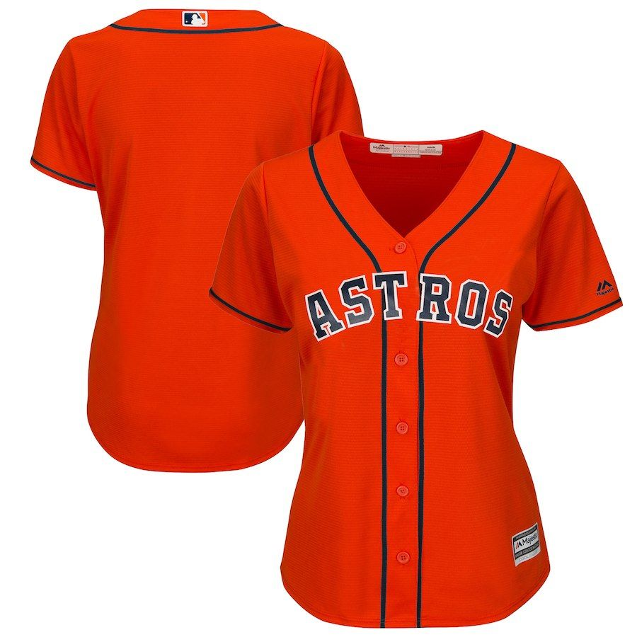 Women S Houston Astros Majestic Navy Alternate Cool Base Jersey Baseball Jersey Outfit Baseball Jersey Outfit Women Houston Astros