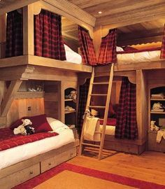 - CHALET BEDROOMS -  Cozy, comfy, and luxurious, these chalet style bedrooms will make you want to go on a mountain break as soon as possible! #chaletstyle #chaletbedroom #mountaininteriors