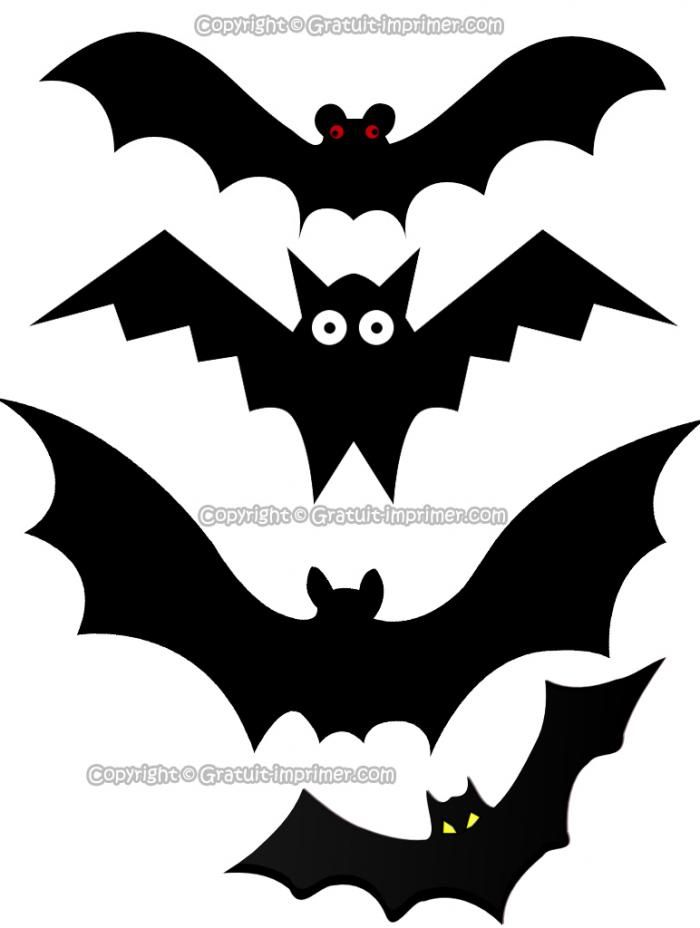 clipart chauve souris images gratuit a imprimer pour halloween halloween enfants pinterest. Black Bedroom Furniture Sets. Home Design Ideas