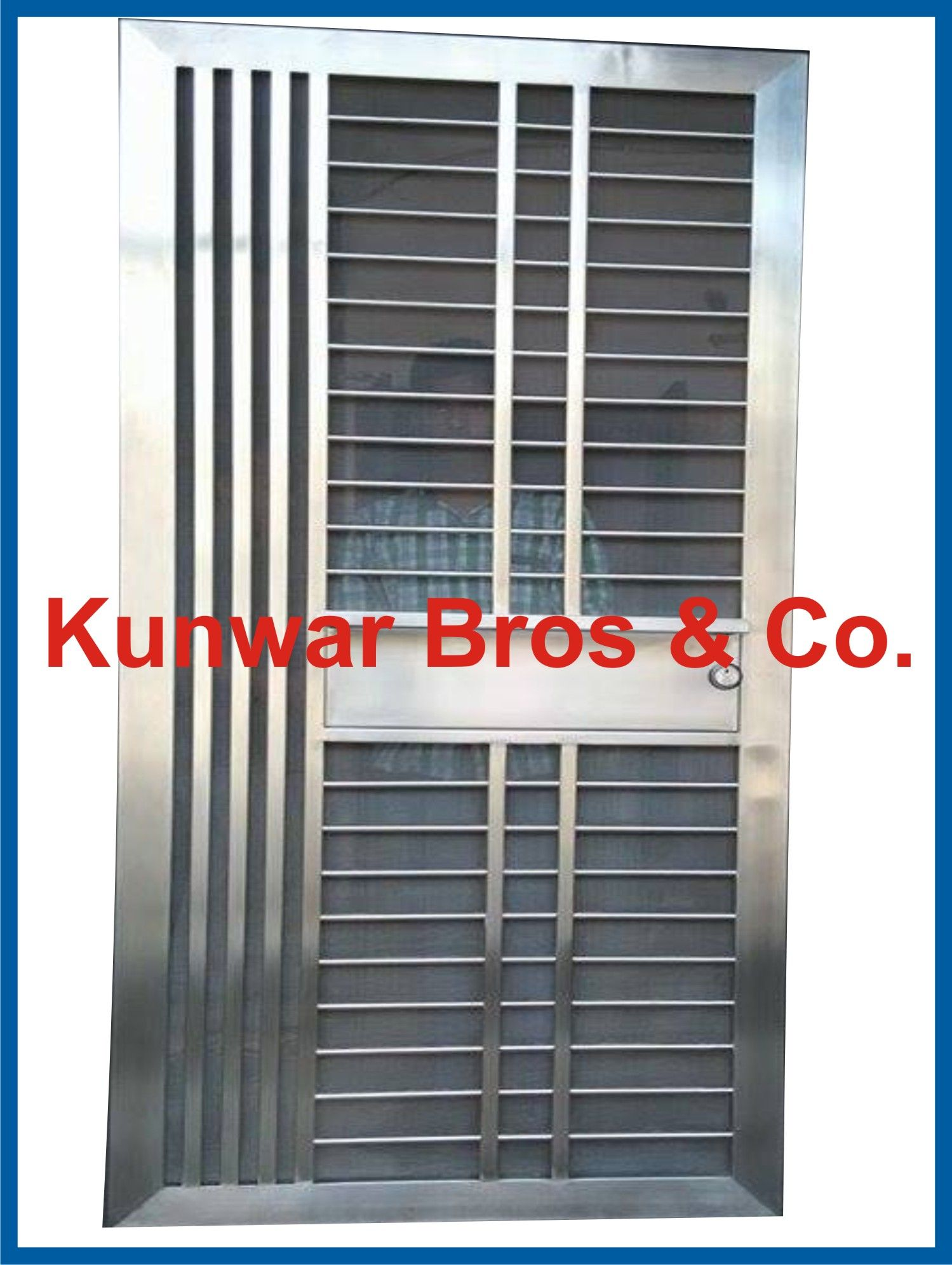 door stainless grill pipe gates picturesque