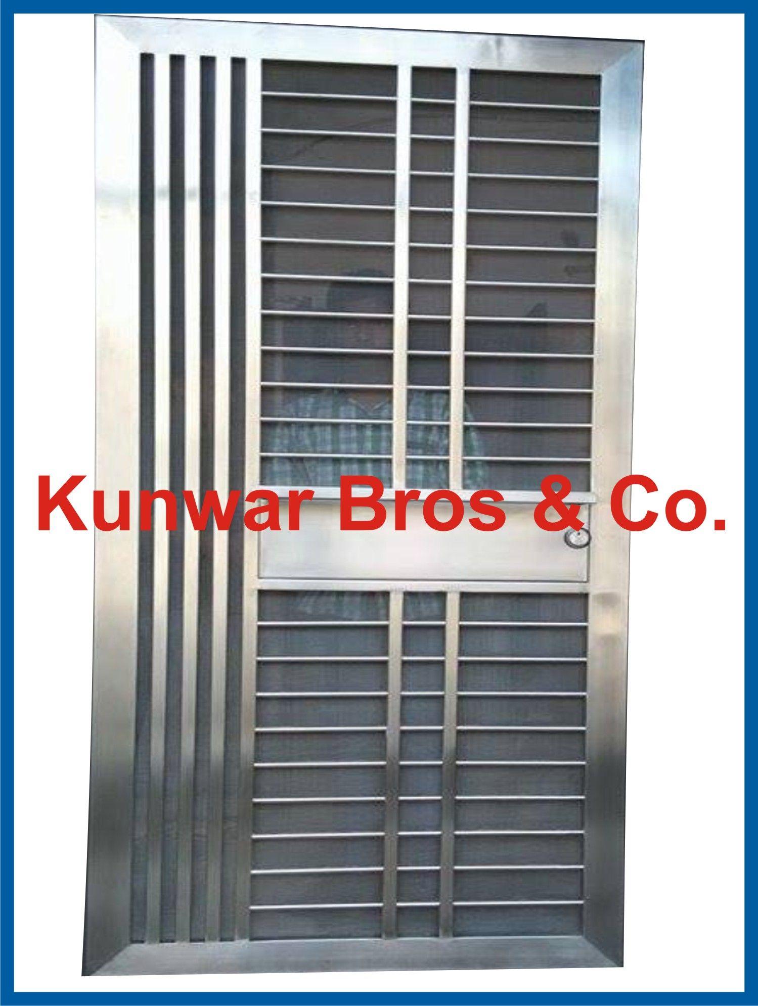 Stainless steel door steel door ss door ss entrance for Ss door design