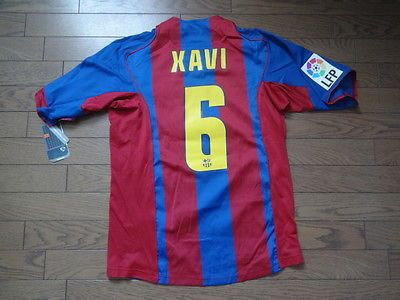 a7ab53b78ce every fc barcelona shirt made by nike; 2015 2016 fc barcelona football shirts  fc barcelona 6 xavi 100 original 200405 home jersey shirt