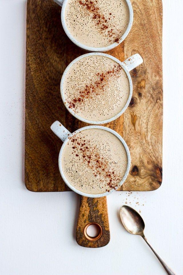 Photo of Creamy Cinnamon Cold Brew Cashew Latte – The Wooden Skillet