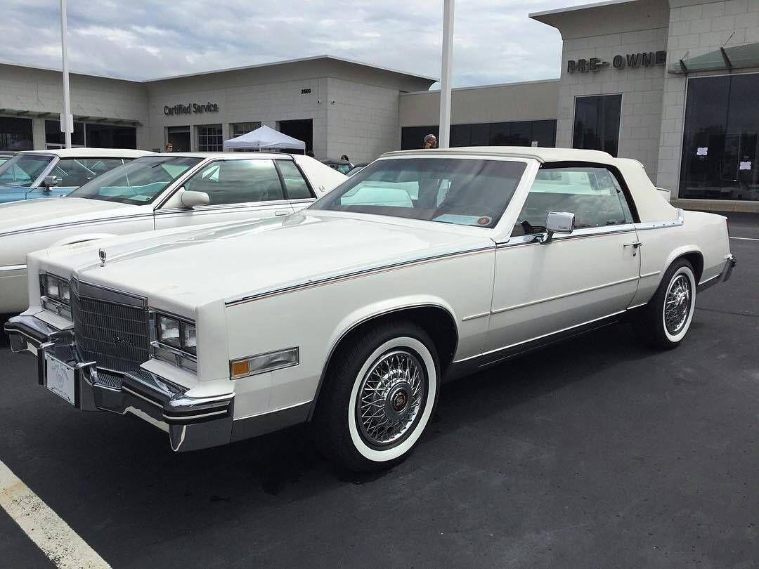 Pin On 1979 1985 Cadillac Eldorado Convertible