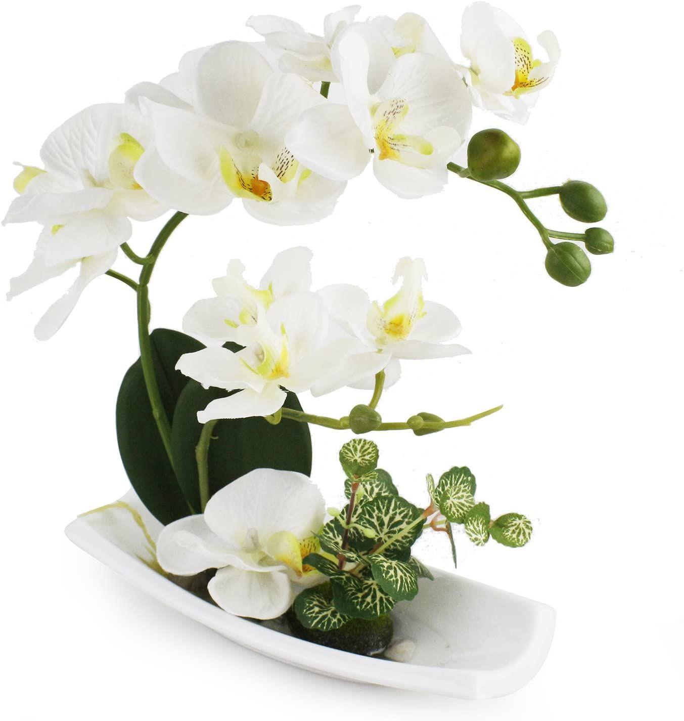 LIVILAN Artificial Orchids Arrangements for Decoration