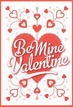 Modern Love Valentine S Day Card Free Greetings Island Printable Valentines Day Cards Valentine Day Cards Valentines Printables Free