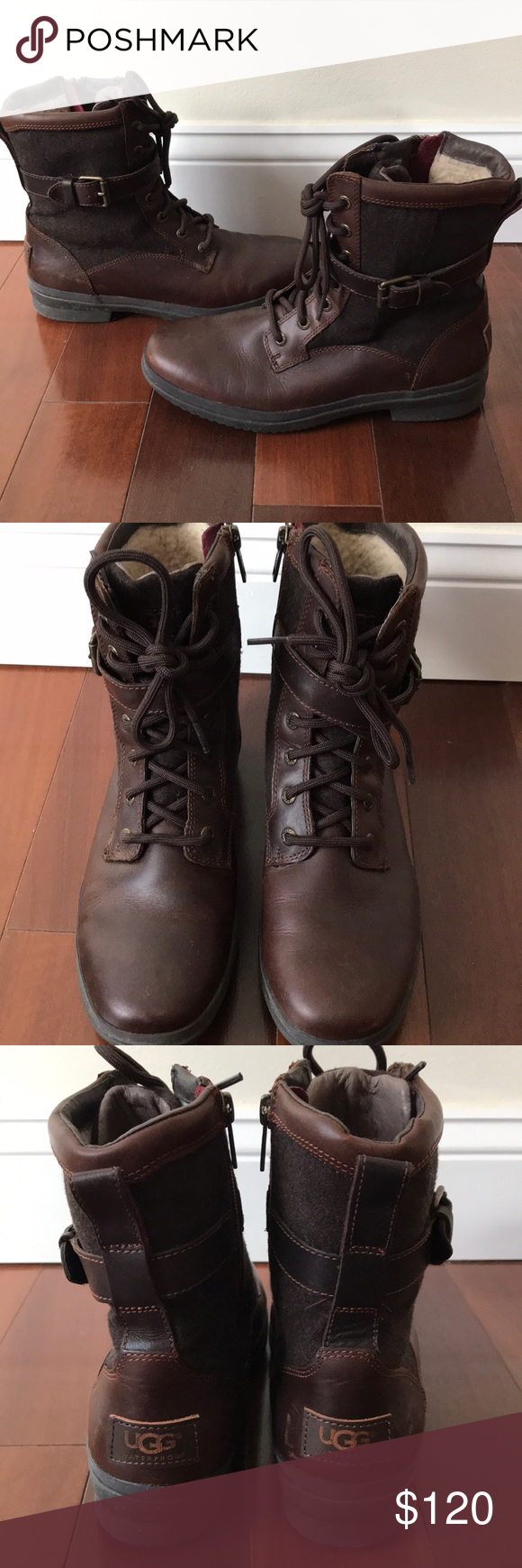 95ed327a349 Kesey Boots UGG Kesey Boots by UGG. Size 7. Brown. Worn a few times ...