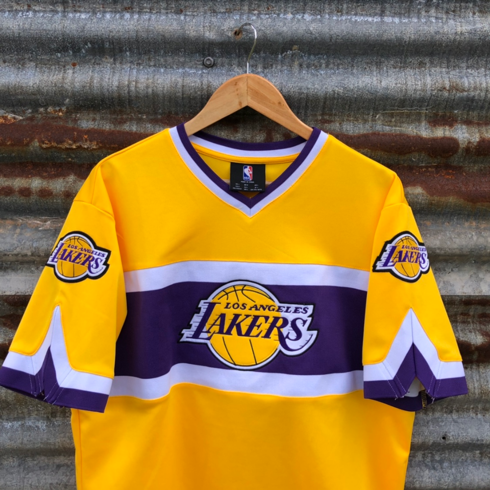 Los Angeles Lakers Baseball Style Jersey Condition:... - Depop ...