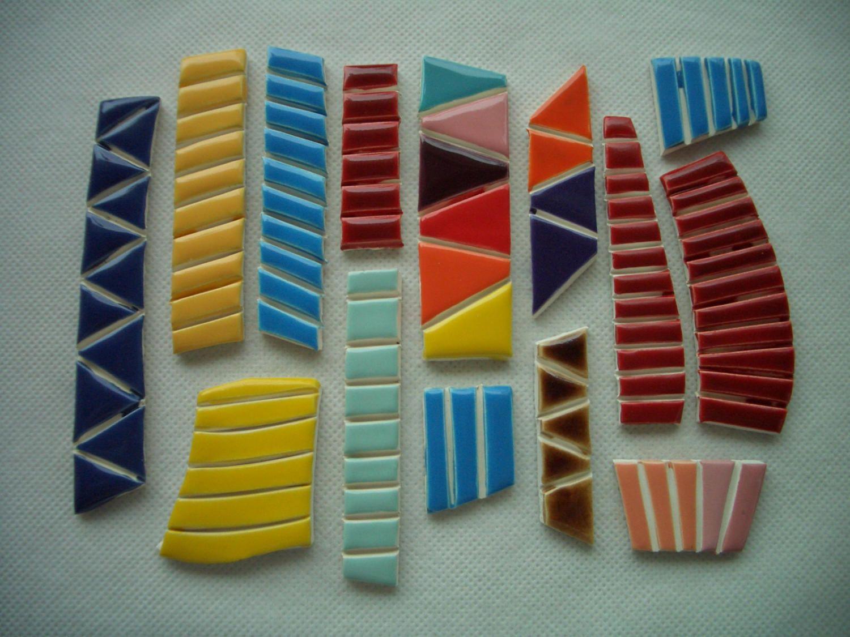 Cobi Colorful Tiny Tiles Ceramic Mosaic Tiles By Tinkertiles On