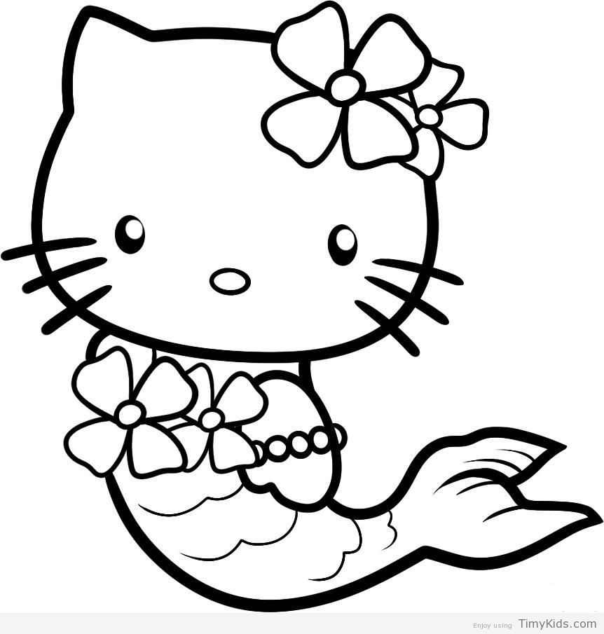 Timykids Hello Kitty Princess Coloring