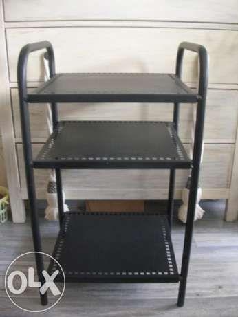 Ikea Szafka Barek Polka Metalowa Czarna Alleby 2 Sztuki Home Decor Furniture Decor