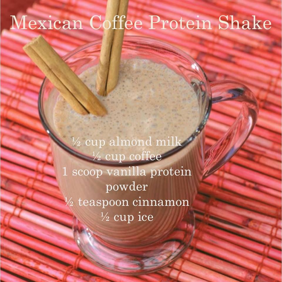Mexican Coffee Protein Shake